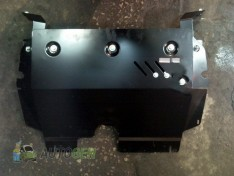 "Защита КПП Infiniti FX45 (S51) (V-4.5) (2008-2013) ""Titanium"""