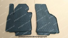 Коврики салона Nissan Sentra (B17) (2012->) (передние 2шт) (Stingray)