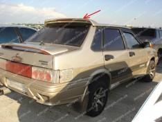 Спойлер багажника ВАЗ 2108, 2109, 21099, 2113, 2114, 2115 (Design Krusha) (стекловолокно)