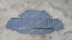 """Защита двигателя Skoda Superb 1 (2001-2008) (2.5 и более) """"Titanium"""""""