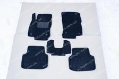 Коврики салона Volkswagen Passat B4 (1993-1997) (5шт) (Avto-Gumm 3D ворс)