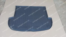 Коврик в багажник Hyundai Santa Fe (5 мест) (короткая база) (2010-2012) (Avto-Gumm Полиуретан)