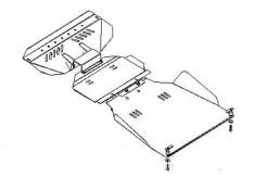 Защита двигателя SsangYong Rexton 1 (2001-2006)