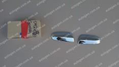 Накладки на зеркала Chevrolet Aveo SD (2006-2011) KR Хром