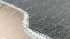 Коврик в багажник Kia Sorento (2002-2009) (текстильный Серый) Vorsan