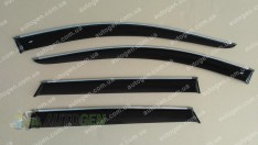 CT-VL Tuning - Хром Ветровики Volkswagen Passat B7 USA (2010-2019) (с хром молдингом) CT