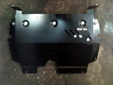 Защита радиатора Lexus GX 1 (470)  (2002-2009)