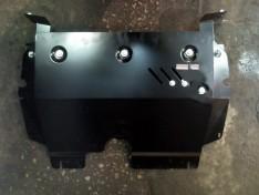 Защита радиатора Nissan Patrol 6 (Y62)  (2010->)