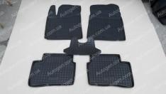 Коврики салона Hyundai i10 (2013->) (5шт) (Avto-Gumm)