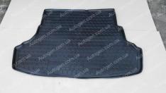 Коврик в багажник Hyundai Accent 4 (Solaris) SD (2010-2017)  (Avto-Gumm Полиуретан)