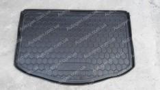 Коврик в багажник Kia Soul 2 (2013->) нижняя полка (без органайзер.) (Avto-Gumm Полиуретан)
