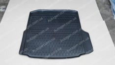 Коврик в багажник Skoda Octavia A7 LB (лифтбек) (2013->) (без бокса усилит.)  (Avto-Gumm Полиуретан)