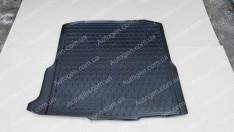 Коврик в багажник Skoda Octavia A7 Combi (2013->) (универсал) (бокс усилитель)  (Avto-Gumm Полиуретан)