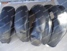 Подкрылки Fiat Ducato 3 (2006->) (4шт) (Mega-Locker)