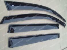 Ветровики Chevrolet Aveo T300 HB (2011->) CT