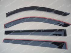Ветровики Mitsubishi Pajero Sport 2 (2008->) CT