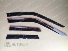 Ветровики Opel Mokka (2012->)  CT