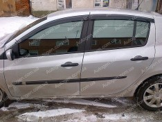 Ветровики Renault Clio 3 (2005-2012) CT
