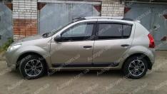 Ветровики Renault Sandero 1, Dacia Sandero 1 (2007-2013)  CT