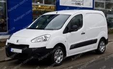Подкрылки Peugeot Partner (2008->) PL