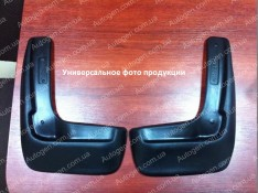 Брызговики модельные Chevrolet Aveo T200, Chevrolet Aveo T250, Chevrolet Aveo T255 (2002-2011) (задние 2шт.) (Lada-Locker)