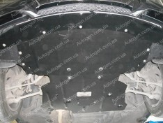 "Защита двигателя BMW E91  (2005-2011)   ""Titanium"""