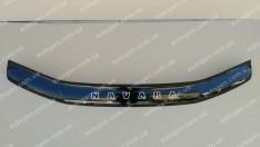 Мухобойка Nissan Navara 3 (D40) (2005-2010)  VIP