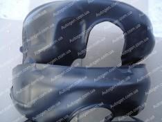 Подкрылки Chevrolet Aveo T250, Chevrolet Aveo T255 (2006-2011) (Передние 2шт.) (Mega-Locker)