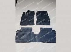 Коврики салона Toyota Avensis 3 (2008->) (4шт) (Avto-Gumm)