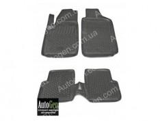 Коврики салона Fiat 500 (2007->) (Полимерные) Lada Locker