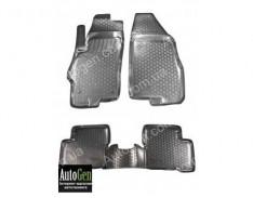 Коврики салона Fiat Linea (2007->) (Полимерные) Lada Locker