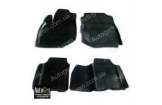 Коврики салона Honda Jazz 3  (2008-2013) (Полимерные) Lada Locker