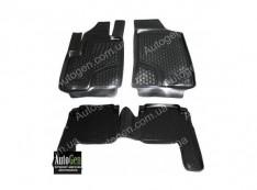 Коврики салона Hyundai Santa Fe 2 (2006-2010) (Полимерные) Lada Locker