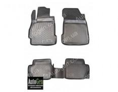 Коврики салона Mazda 2 (2008-2014) (Полимерные) Lada Locker