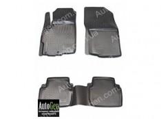 Коврики салона Mitsubishi Outlander 2 XL  (2006-2012)  (Полимерные) Lada Locker