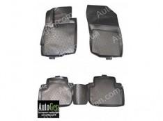 Коврики салона Mitsubishi Outlander 3  (2012->)  (Полимерные) Lada Locker