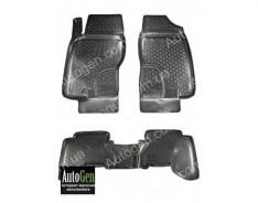Коврики салона Nissan Navara 3 (D40) (2005-2014)  (Полимерные) Lada Locker