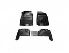Коврики салона Nissan Patrol 6 (Y62) (2010->)  (Полимерные) Lada Locker