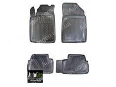 Коврики салона Peugeot 407 (2004-2011)  (Полимерные) Lada Locker