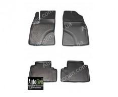 Коврики салона Toyota Avensis 3 (2008->)  (Полимерные) Lada Locker