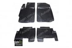 Коврики салона Toyota Yaris 2  (2006-2011)  (Полимерные) Lada Locker