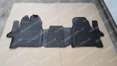 Коврики салона Ford Custom (2012->) 1+1 (3шт) (Avto-Gumm)