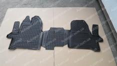 Коврики салона Ford Custom (2012->) 1+2 (3шт) (Avto-Gumm)