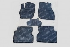 Коврики салона Seat Leon 3 (2012->) (3 двери) (5шт) (Avto-Gumm)