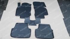 Коврики салона Seat Leon 3 (2012->) (5 дверей) (5шт) (Avto-Gumm)