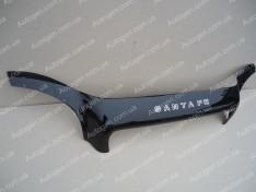 Мухобойка Hyundai Santa Fe 1 (2001-2006)  VIP