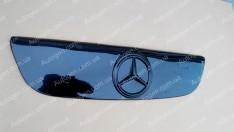 Решетка радиатора (верхняя) зимняя Mercedes Sprinter 2 (2006-2013) Глянцевая