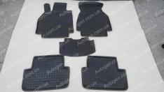 Коврики салона Renault Megane 2 (2002-2008) (5шт) (Avto-Gumm)