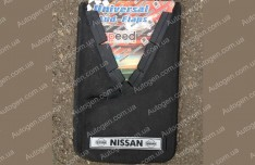 Брызговики универсальные Nissan ( 2шт.) (с надписью)