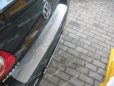Накладка на бампер Volkswagen Passat B6 SD (2005-2010) NataNiko ровная